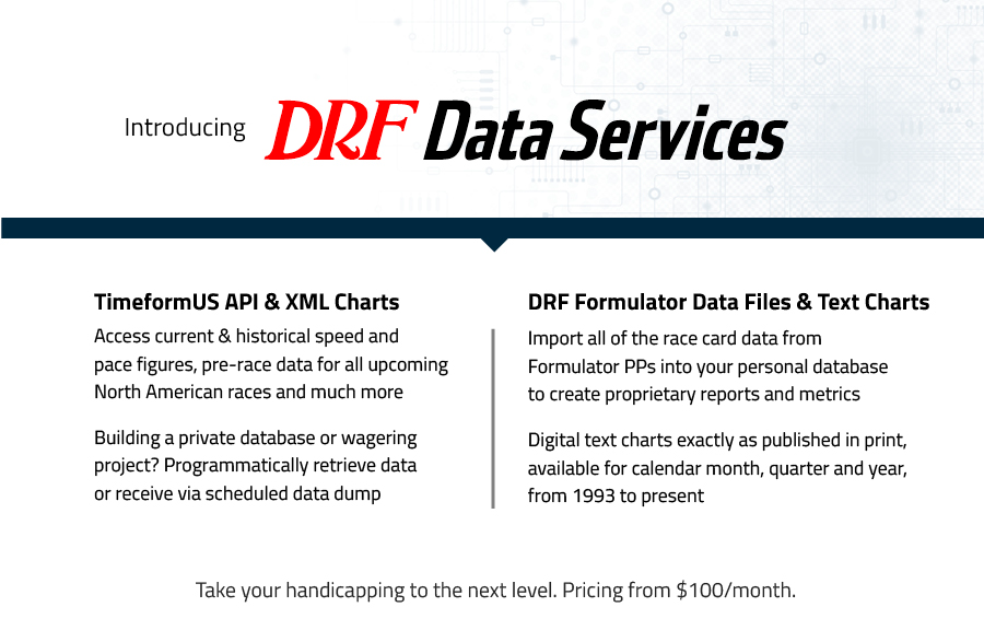 Data Services Daily Racing Form