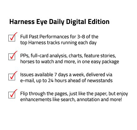 Drf Harness Digital Paper Daily Racing Form