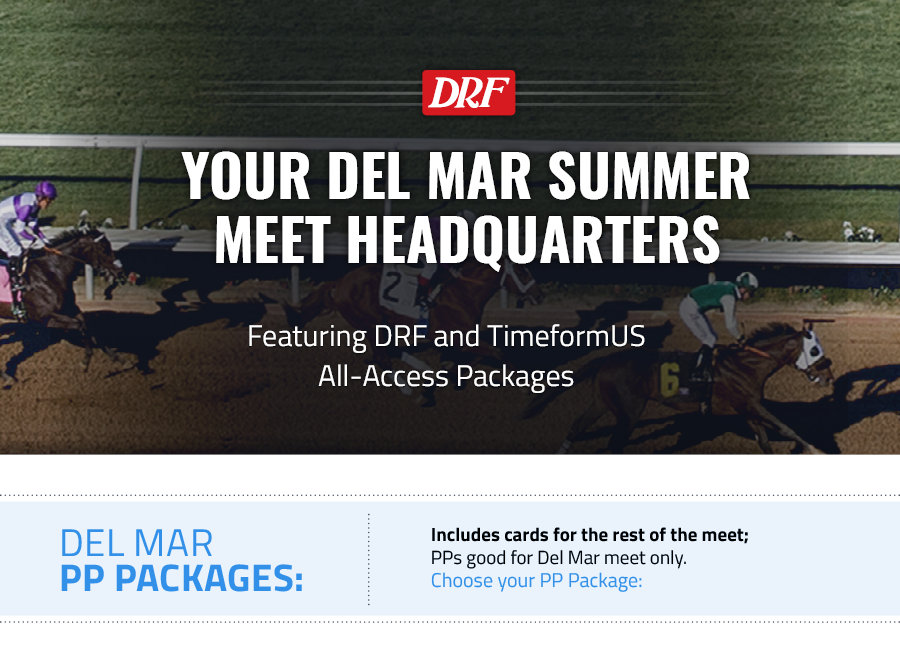 2017 Del Mar All-Access Package | Daily Racing Form