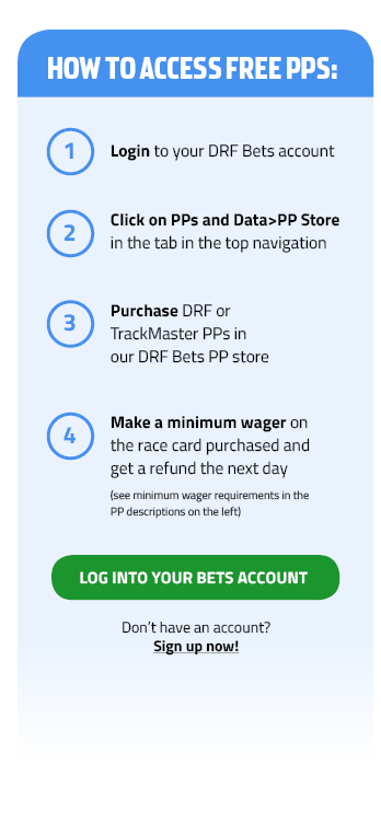 DRF Bets Free Harness PP Program | Daily Racing Form