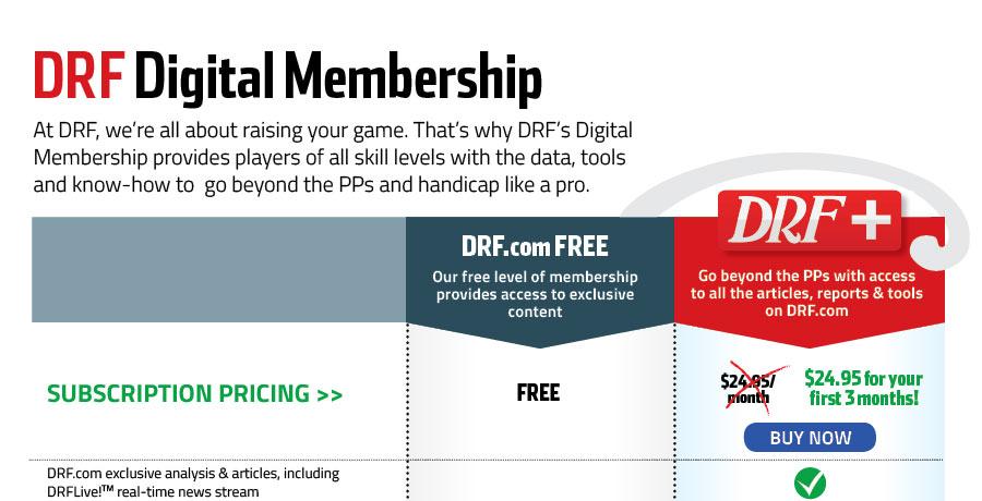 Membership Daily Racing Form
