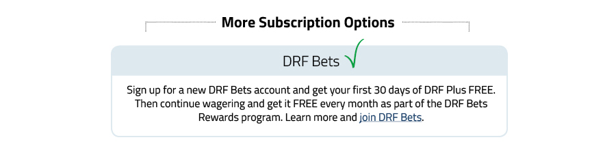 Drf Plus Daily Racing Form