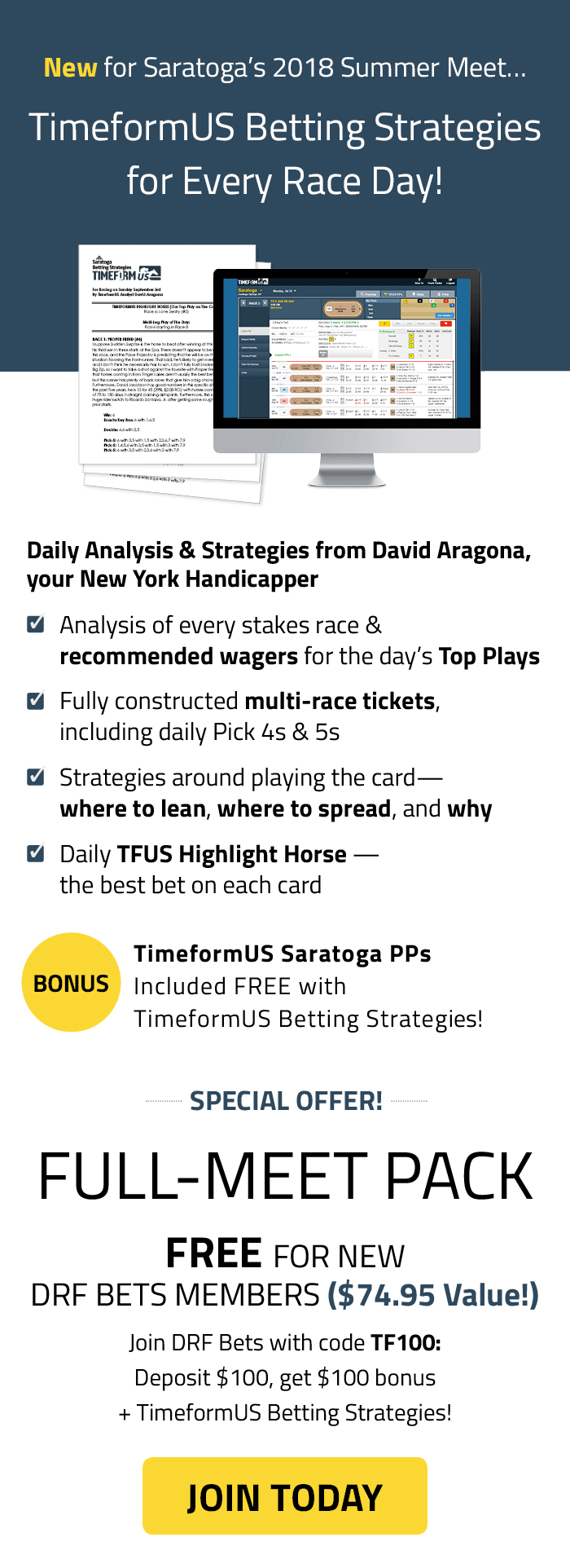 Strategies | Daily Racing Form
