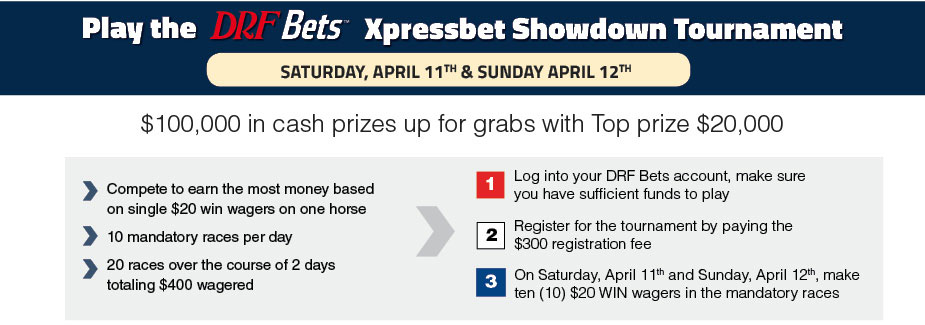 Xpressbet Showdown Tournament | Daily Racing Form