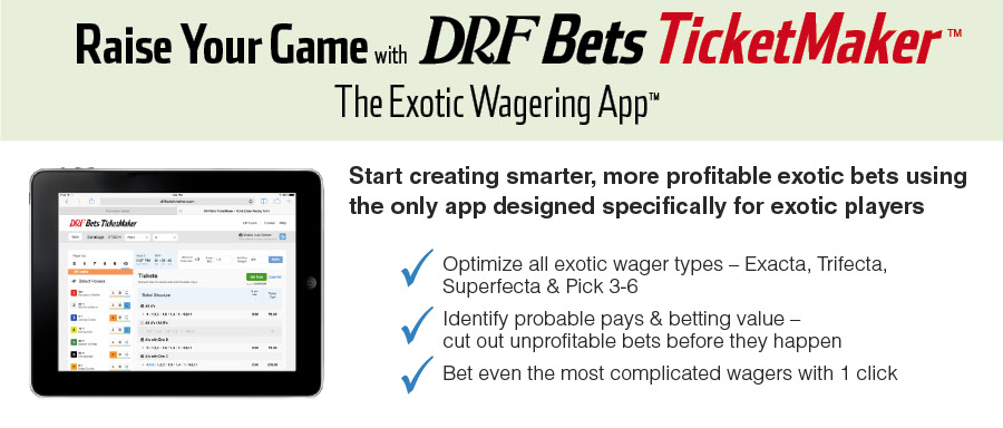 DRF Bets TicketMaker – Ticketmaker